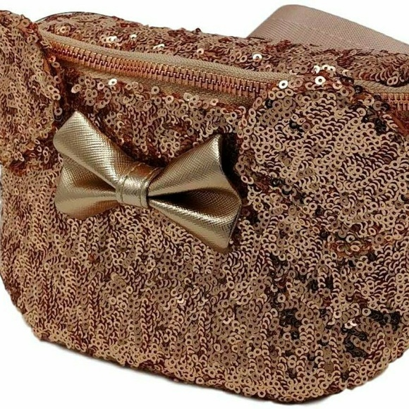 ee295ebd254 Disney Parks Loungefly Rose Gold Minnie Mouse
